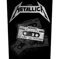 Metallica No Life Till Leather Back Patch