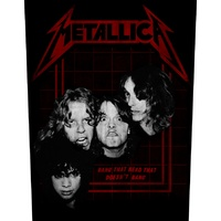 Metallica Bang That Head Back Patch