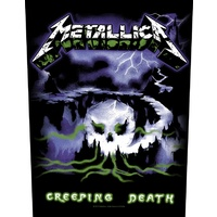 Metallica Creeping Death Back Patch