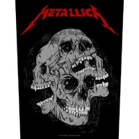 Metallica Skulls Back Patch
