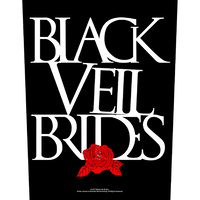 Black Veil Brides Rose Back Patch