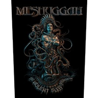 Meshuggah Violent Sleep Of Reason Back Patch