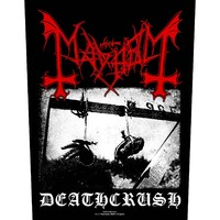 Mayhem Deathcrush Back Patch