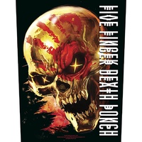 Five Finger Death Punch & Justice For None Back Patch