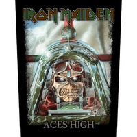 Iron Maiden Aces High Back Patch