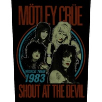Motley Crue Shout At The Devil Back Patch