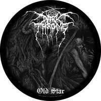 Darkthrone Old Star Circular Back Patch
