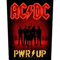 AC/DC Pwr Up Band Back Patch