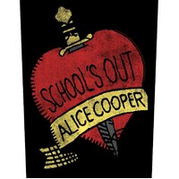 Alice Cooper Schools Out Back Patch