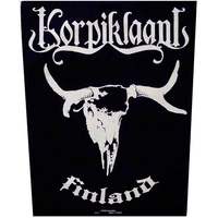 Korpiklaani Finland Back Patch