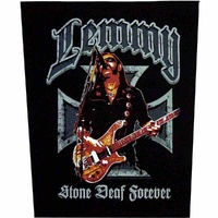 Motorhead Lemmy Stone Deaf Back Patch