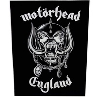 Motorhead England Back Patch