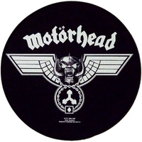 Motorhead Hammered Circular Back Patch
