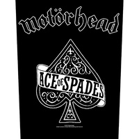 Motorhead Ace Of Spades Back Patch