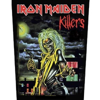 Iron Maiden Killers Album Back Patch