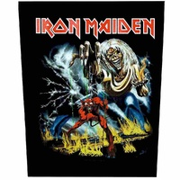 Iron Maiden The Number Of The Beast Back Patch