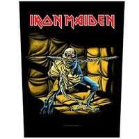 Iron Maiden Piece Of Mind Back Patch