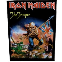 Iron Maiden Trooper Back Patch