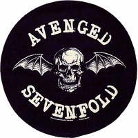 Avenged Sevenfold Death Bat Circular Back Patch