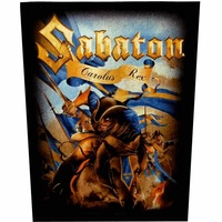 Sabaton Carolus Rex Back Patch