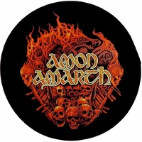 Amon Amarth Battlefield Back Patch