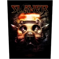 Slayer Gas Mask Back Patch