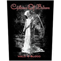 Children Of Bodom Halo Of Blood Back Patch
