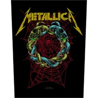 Metallica Tangled Web Back Patch