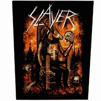 Slayer Devil On Throne Back Patch