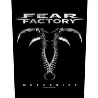 Fear Factory Mechanize Back Patch