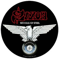 Saxon Wheels Of Steel Back Patch