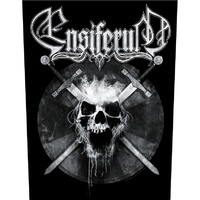 Ensiferum Skull Back Patch