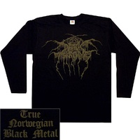 Darkthrone True Norwegian Black Metal Long Sleeve Shirt Dark Throne