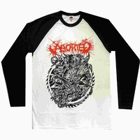 Aborted Hellraiser Baseball Shirt