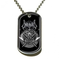 Unleashed Hammer Battalion Dog Tag Necklace