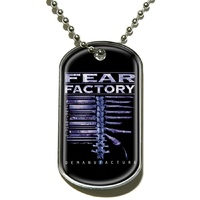 Fear Factory Demanufacture Dog Tag Necklace