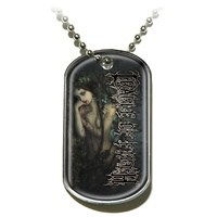 Cradle Of Filth The Witch Dog Tag Necklace