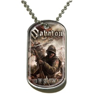 Sabaton The Last Stand Dog Tag Necklace