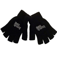 Iron Maiden Logo Fingerless Gloves