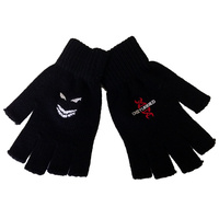 Disturbed Red DNA Fingerless Gloves