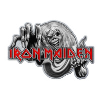 Iron Maiden Number of the Beast Metal Pin Badge