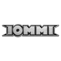 Tony Iommi Logo Metal Pin Badge