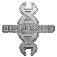 Disturbed REDDNA Metal Pin Badge