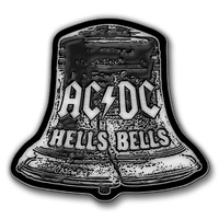 AC/DC Hells Bells Metal Pin Badge