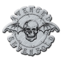 Avenged Sevenfold Death Bat Metal Pin Badge