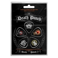 Five Finger Death Punch 5FDP Guitar Plectrum Pick 5 Pack