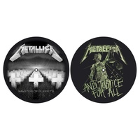Metallica Master Of Puppets And Justice For All Turntable Slipmats