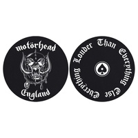 Motorhead England Everything Louder Turntable Slipmats