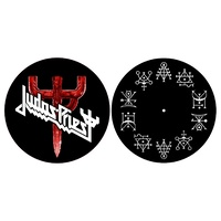 Judas Priest Firepower Turntable Slipmat Set