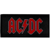 AC/DC Red Logo Patch